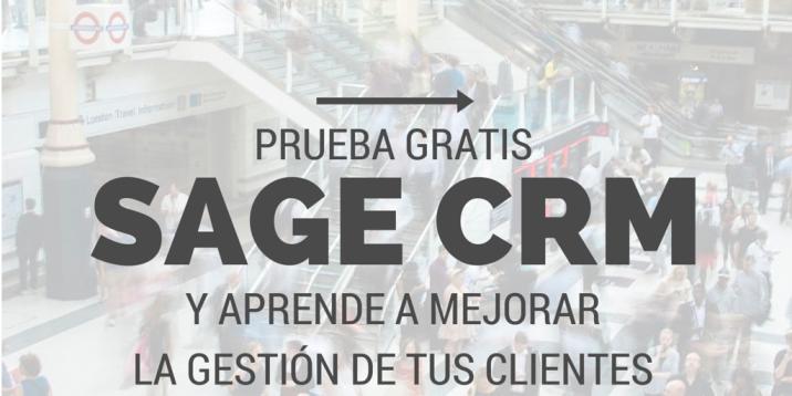 Prueba Gratis Sage CRM