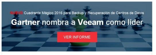 Gartner nombra a Veeam como líder
