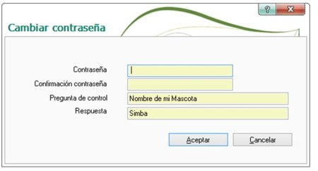 Cómo recuperar la contraseña de ContaPlus o FacturaPlus