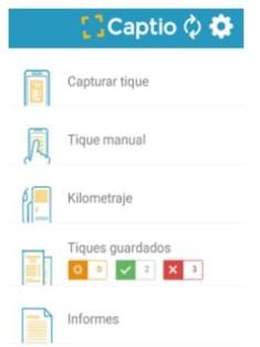 Manual de Captio para usuario Reportador