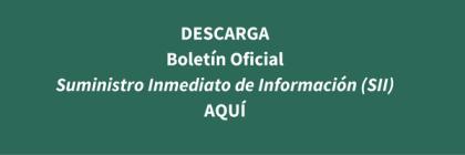 ¿Qué es el Suministro Inmediato de Información (SII)?