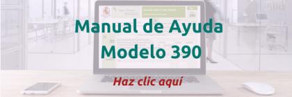 ¿Cómo generar el Modelo 390?
