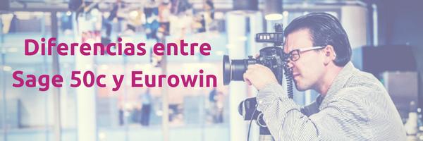 Comparativa de Sage 50c y Eurowin