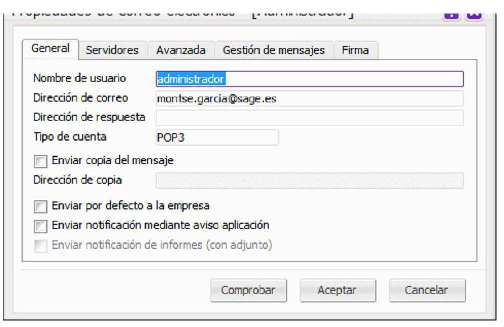 Sage Despachos ¿cómo enviar la nómina al empleado por email?