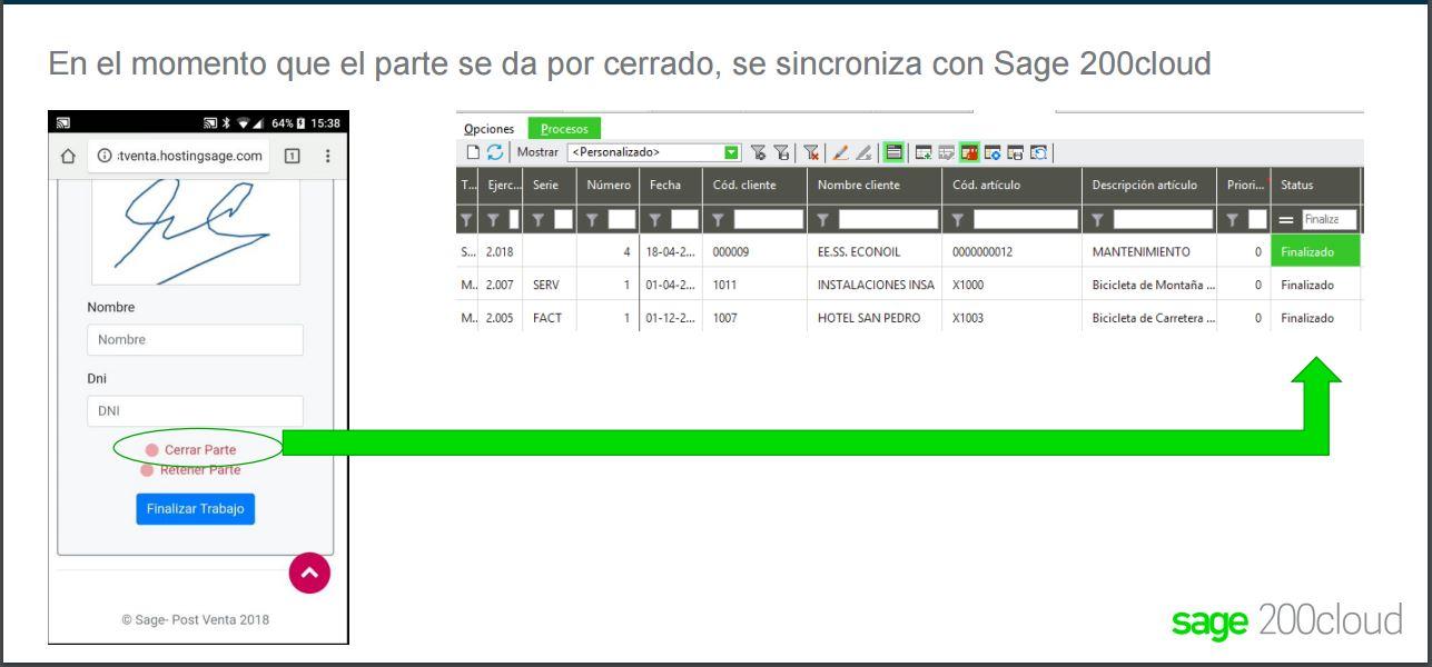 Postventa Sage 200c 3