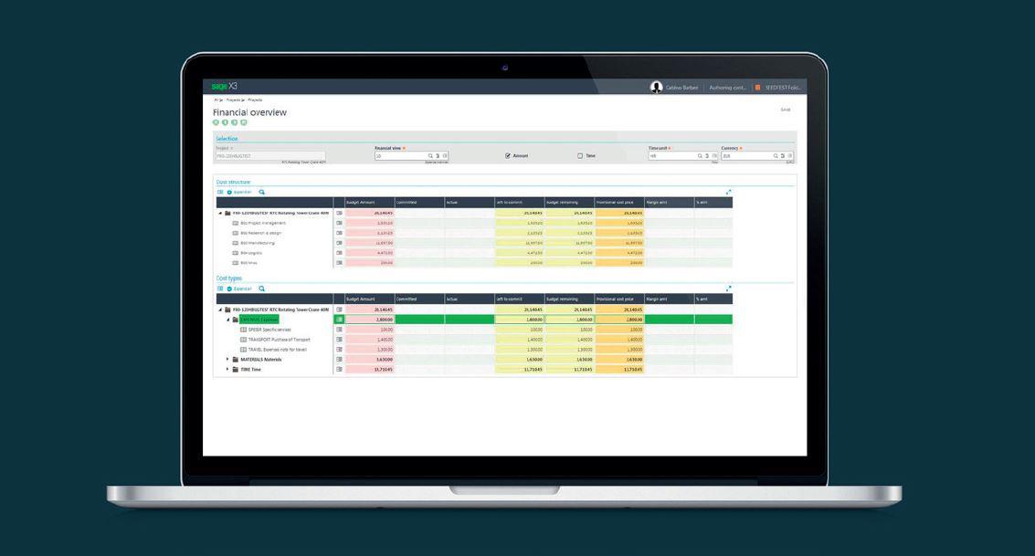Sage X3 Project Management