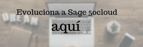 evolución a sage 50cloud